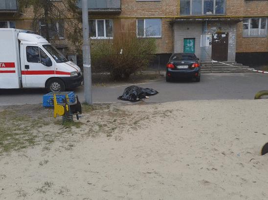 З'явилися фото з місця вбивства Бузини