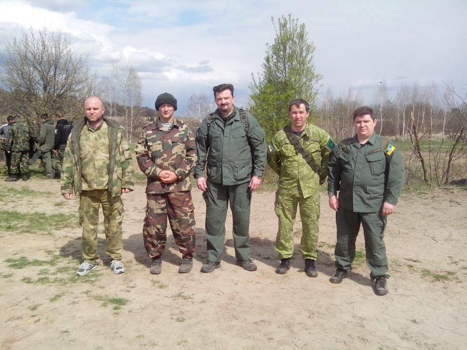 """""""Правый сектор"""" провел учения по стандартам НАТО. Опубликованы фото"""