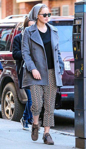 Дженнифер Лоуренс впервые стала жертвой модного провала