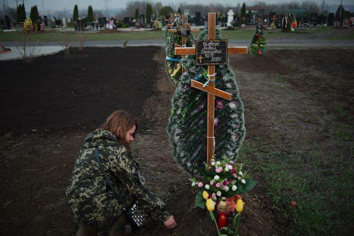 В Днепропетровске хоронят сотни неопознанных героев АТО