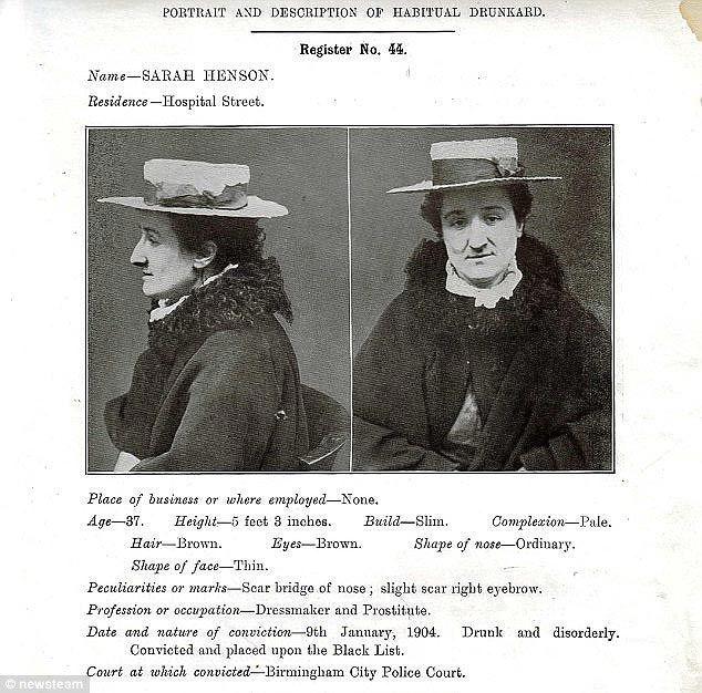 С виду приличные люди: фото пьяниц, которым было запрещено посещать бары в 1904 году