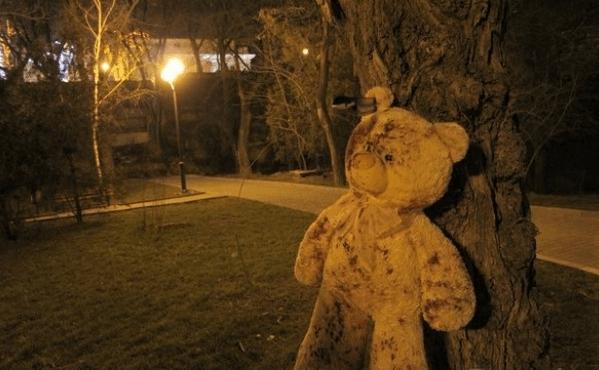 Окровавленная девушка-зомби распугала ночных прохожих в Одессе