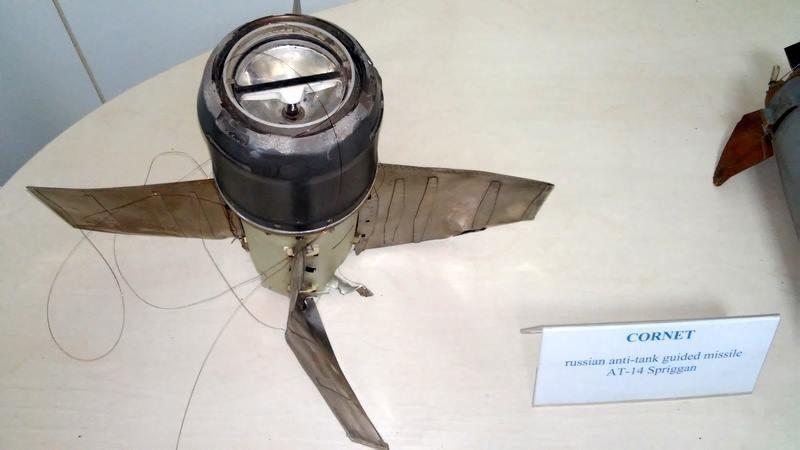Силовики показали российскую ракету из зоны АТО