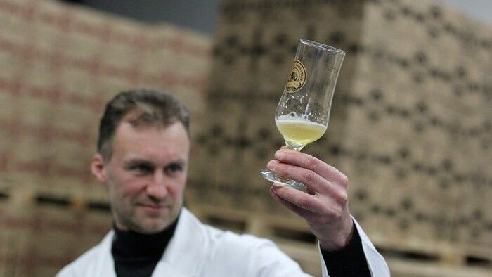 Пиво Коперника на основе лаванды