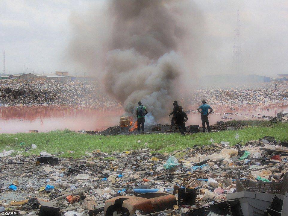 его себе мусорная свалка в африке фото если сих пор