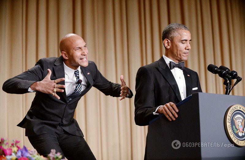 """Обама рассмешил Ирину Шейк """"злым переводчиком"""""""