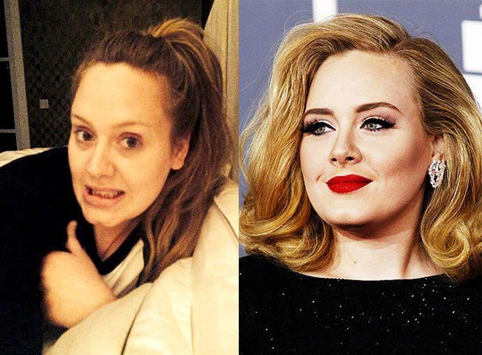 18 звезд, которых вы не узнаете без макияжа