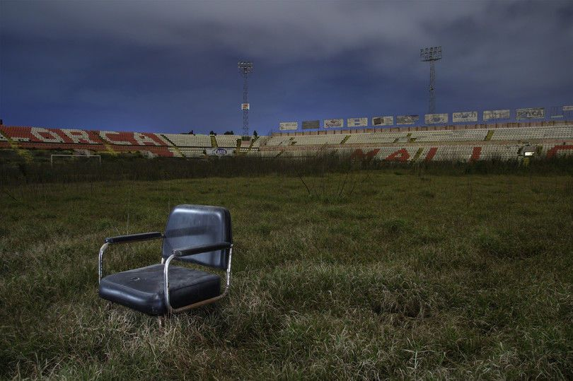 """Рік війни: """"Донбас Арена"""" потрапила в ТОП-5 покинутих стадіонів світу"""
