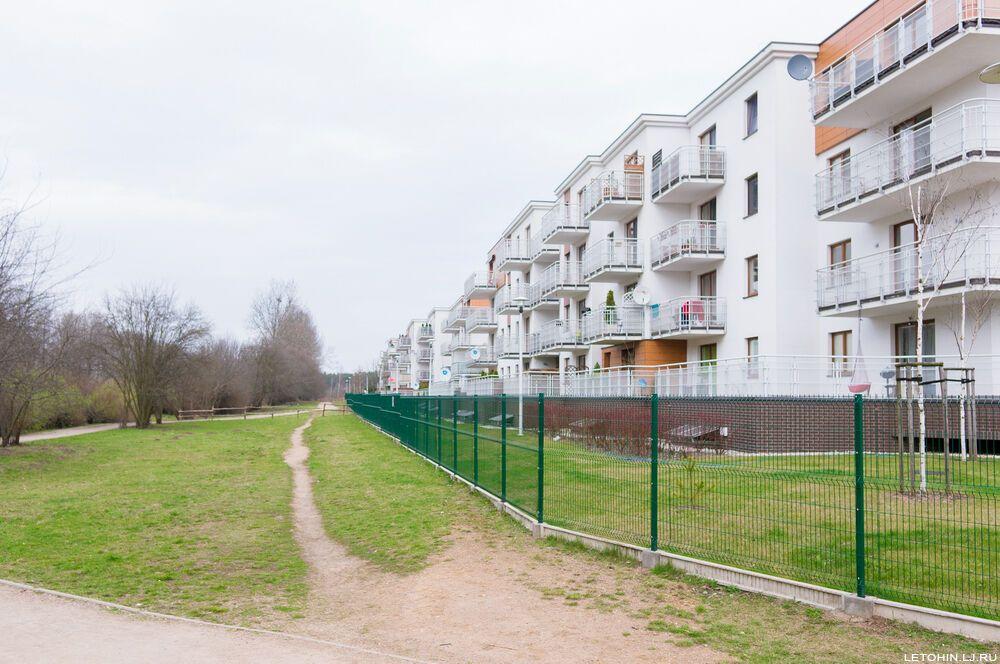 Уют спальных районов Варшавы