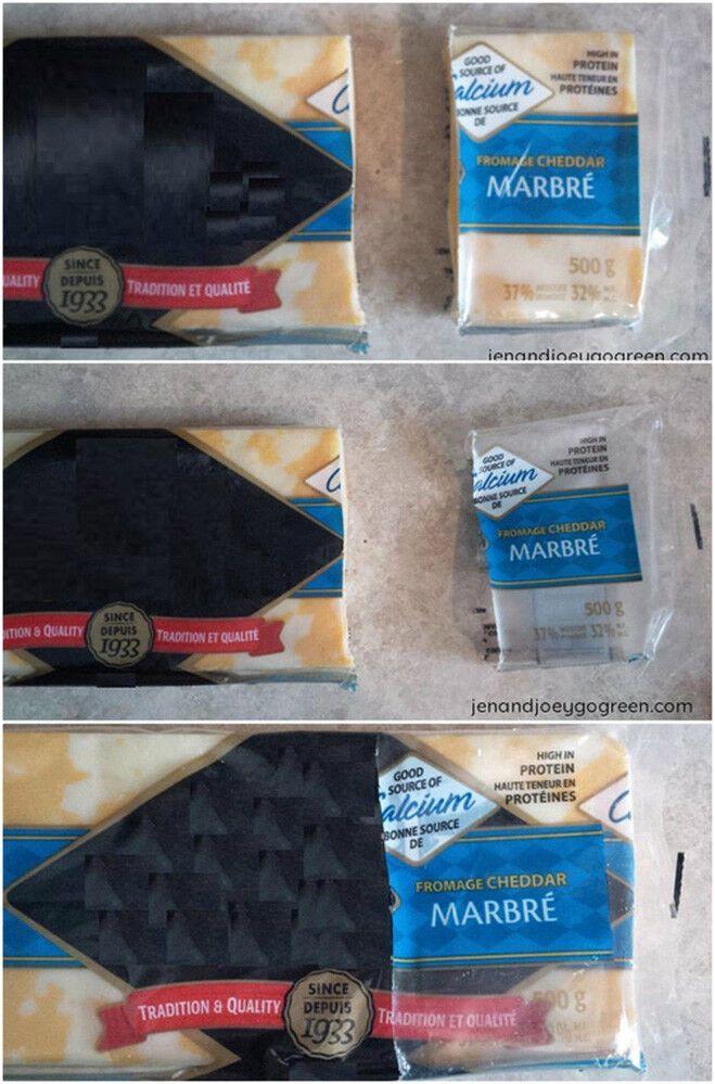 Упаковка сыра