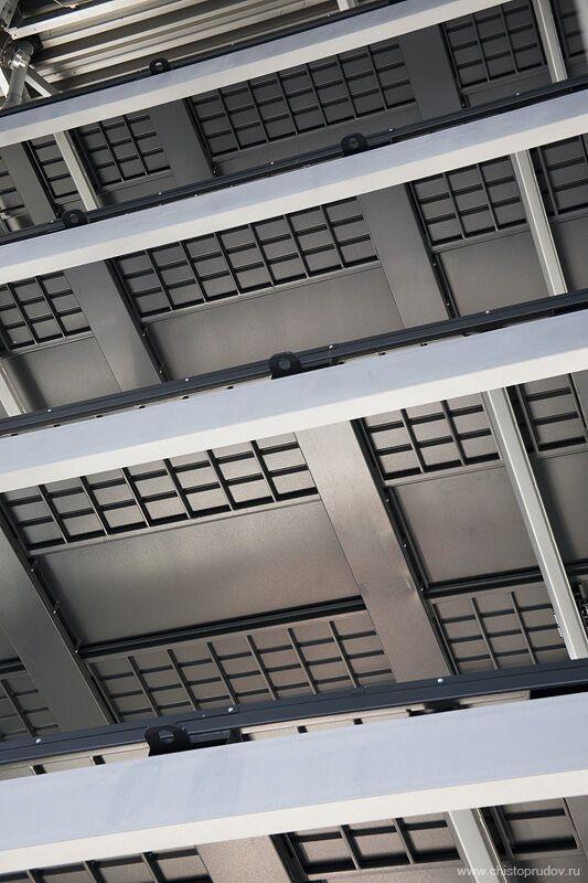 Как работает многоэтажный паркинг