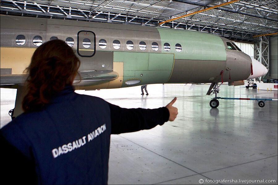 Как делают самолеты для олигархов