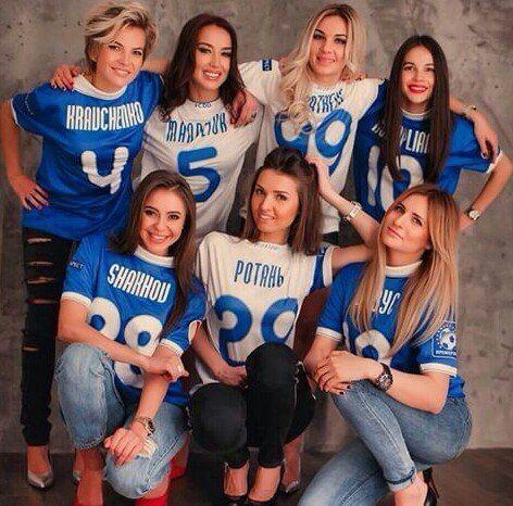 """Жены футболистов """"Днепра"""" снялись в фотосессии"""