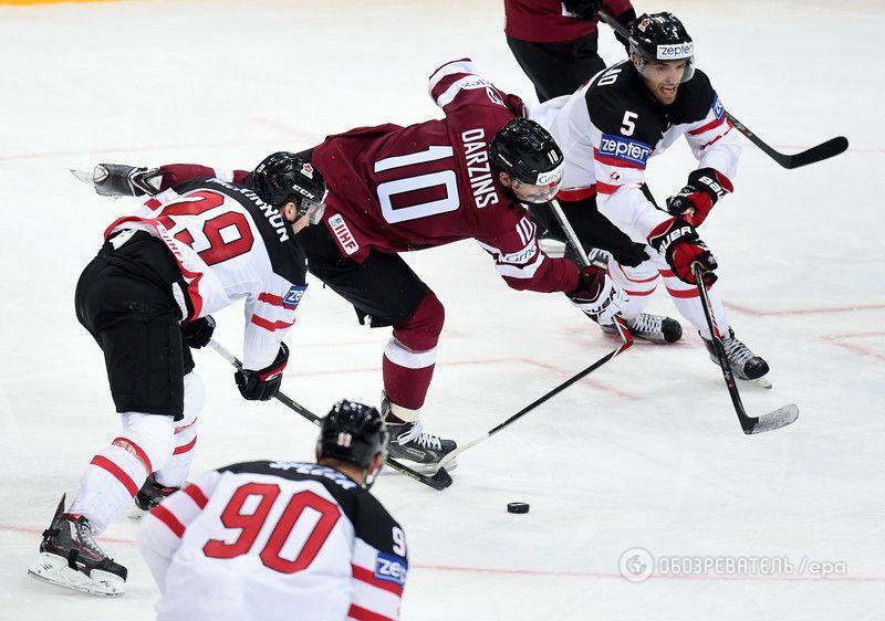США и Канада фантастически начали чемпионат мира