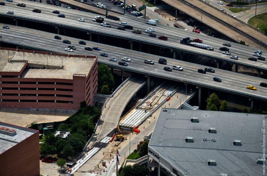 Как строят дороги в США