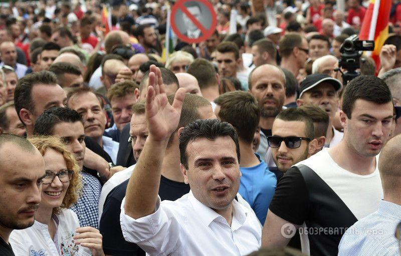 """La Repubblica: Македония взбунтовалась против """"маленького Януковича"""""""