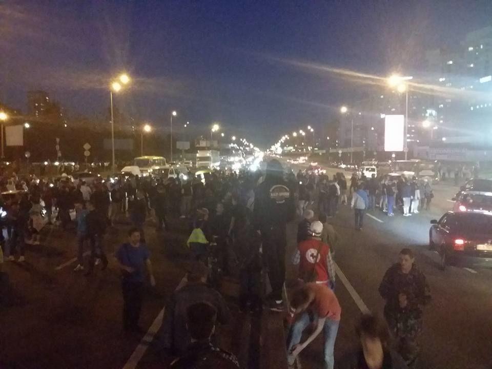 Протесты против застройки в Киеве: милиция начала задержания