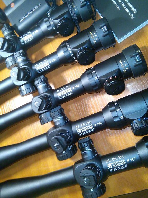 """Украинские снайперы получат """"навороченное"""" оборудование: фотофакт"""