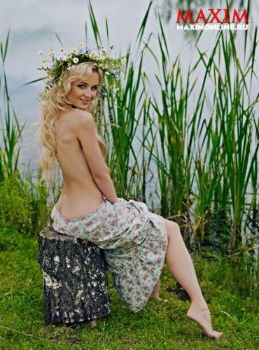 Голая Полина Гагарина появилась на страницах австрийской газеты
