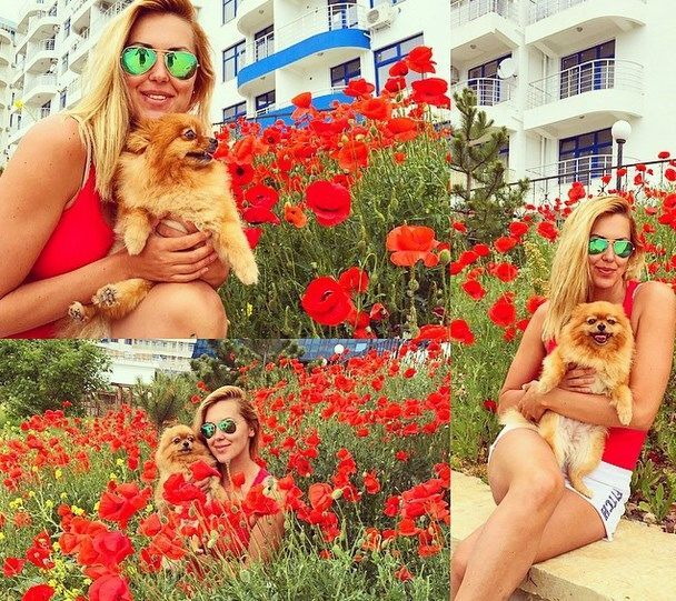 Привет из Крыма: Яна Клочкова похвасталась яркими фото своей попы