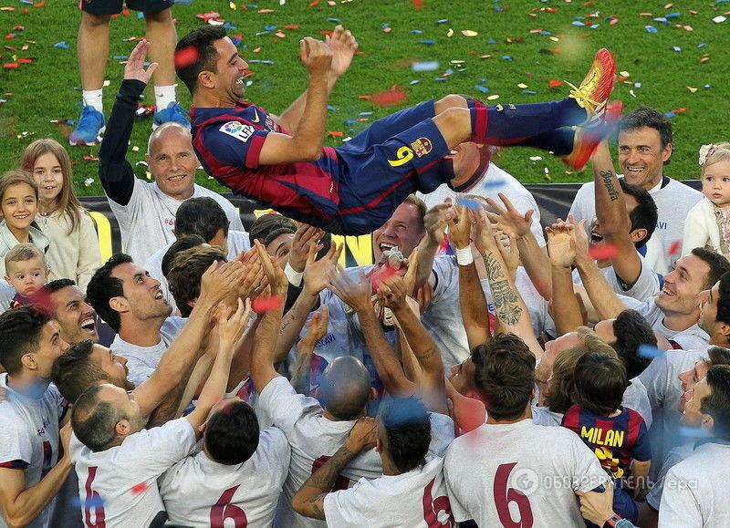 """Легендарный капитан """"Барселоны"""" не сдержал слез, прощаясь с клубом"""