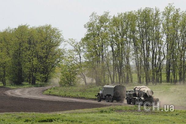 Колонна российской военной техники направилась к границе Украины