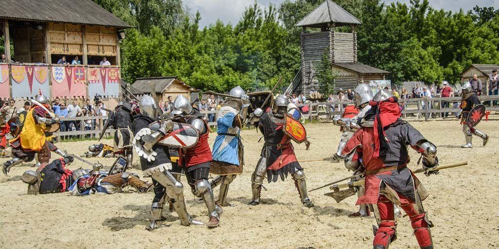 Под Киевом пройдет рыцарский турнир