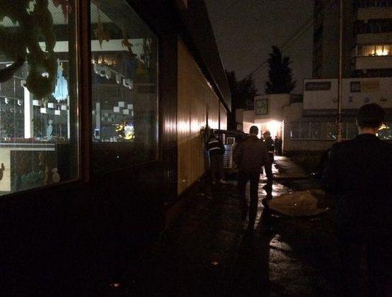 В Киеве на Оболони взорвали магазин ROSHEN