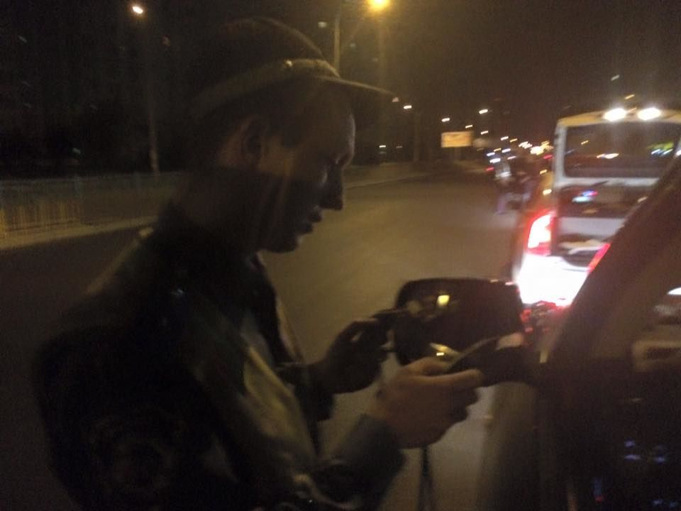 В Киеве гаишники послали на *** нардепа