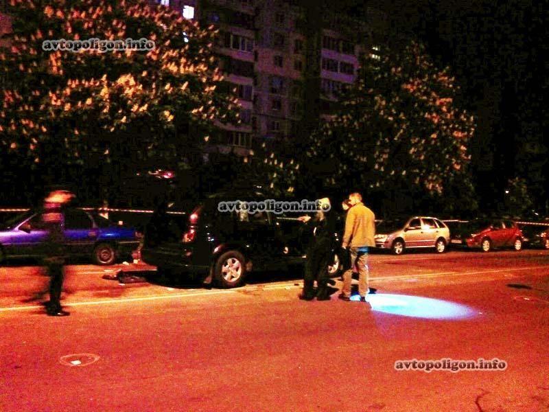 Расстрел милицейского патруля в Киеве: подробности