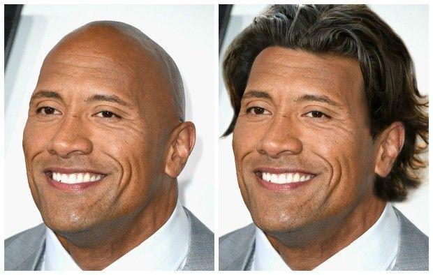 Крутые головы: как бы выглядели лысые звезды с новой прической