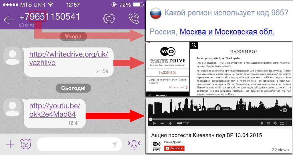 Спалились! На протест под Радой зазывают из России: доказательства