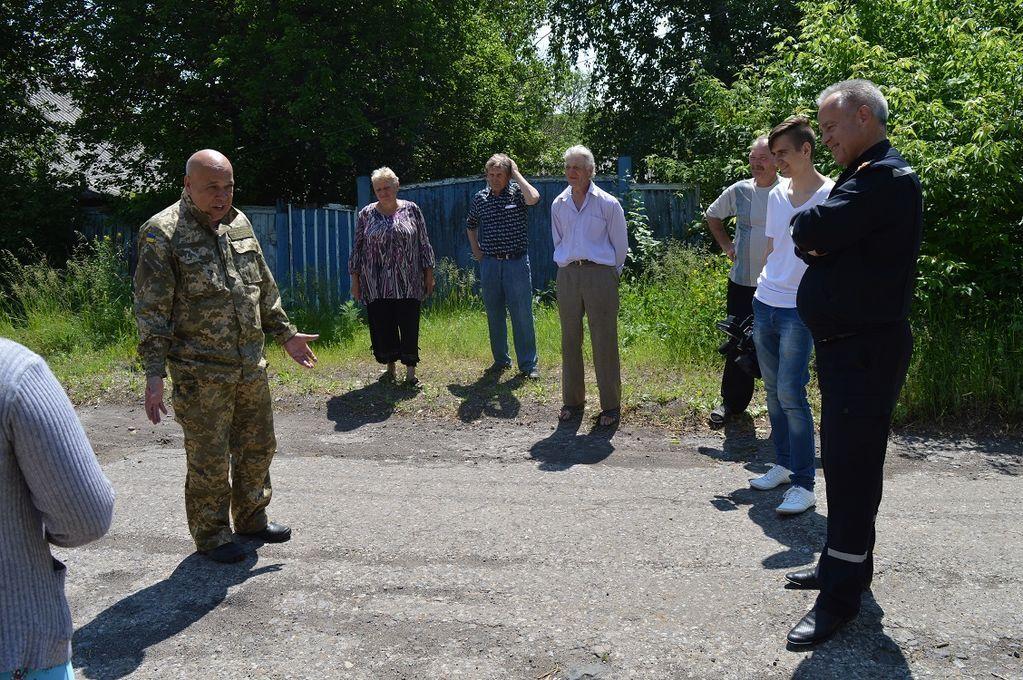 Москаль присоединил к Луганщине еще одно профронтовое село