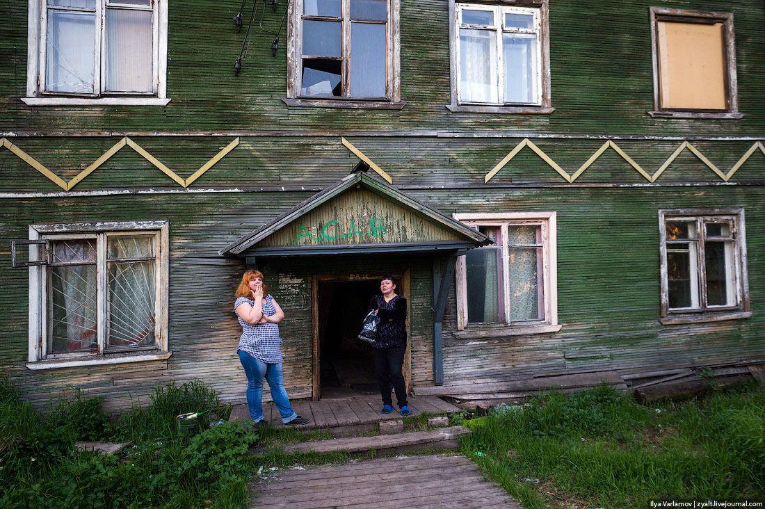 Нищета и разруха в российском Архангельске