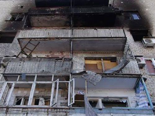 """Донецк опять попал под обстрел: """"разрывы жуткие!"""""""