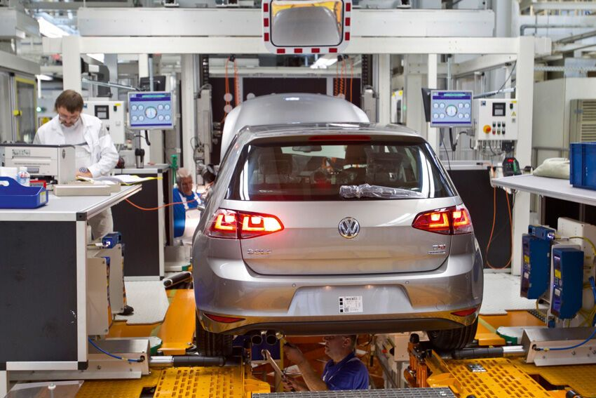 Как собирают автомобили Volkswagen