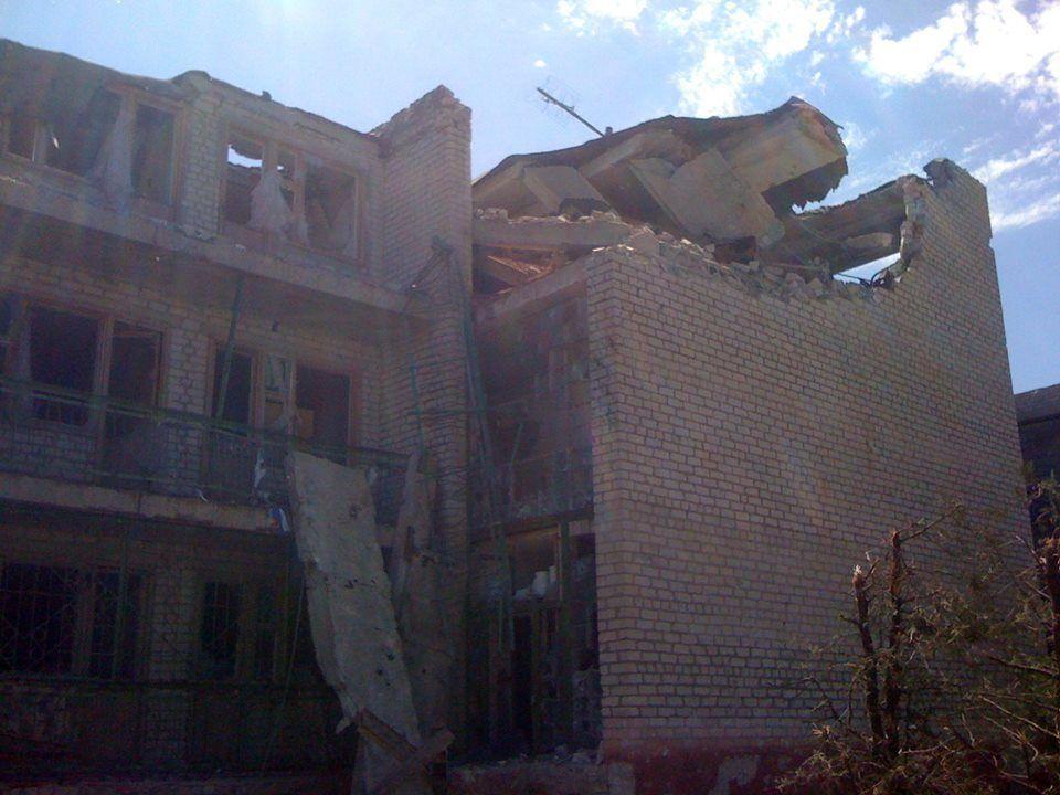 Опубликованы фотофакты варварского уничтожения террористами Широкино