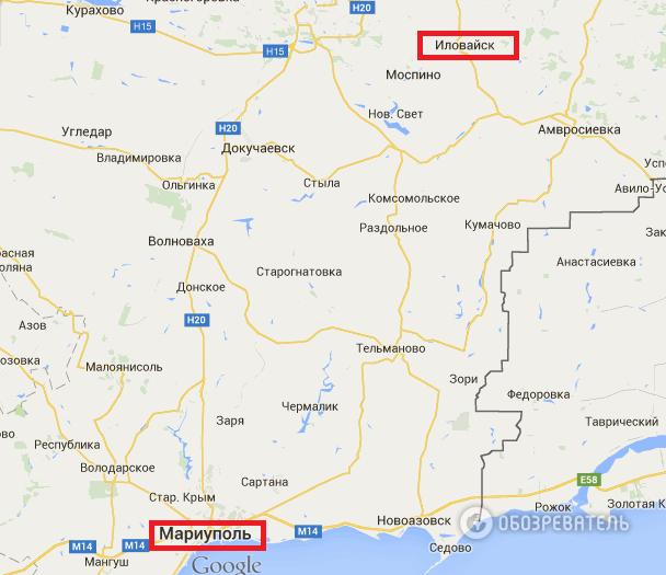 ОБСЕ: вблизи Мариуполя засняли сотню единиц военной техники