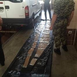 В Украине задержана рекордная партия наркотиков, полтонны героина: видеофакт