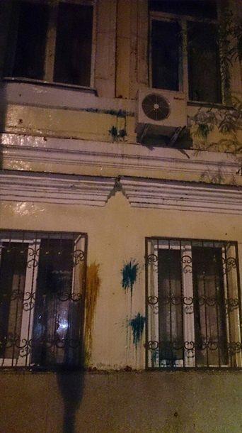 В консульстве Украины в Ростове выбили все окна