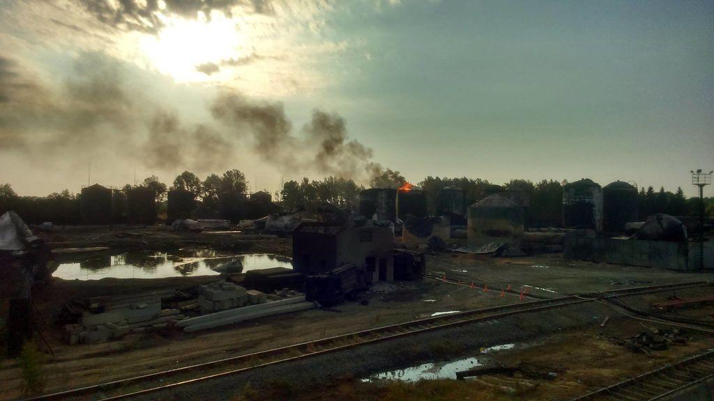 Пожар в Василькове: обнародованы свежие данные и новые фото