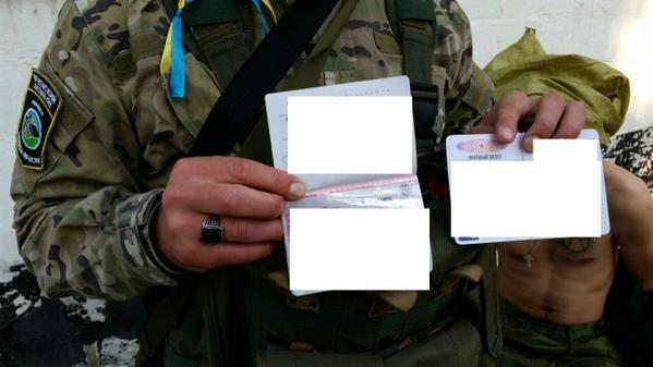 Бойцы АТО поймали российского наемника-неонациста вблизи Мариуполя