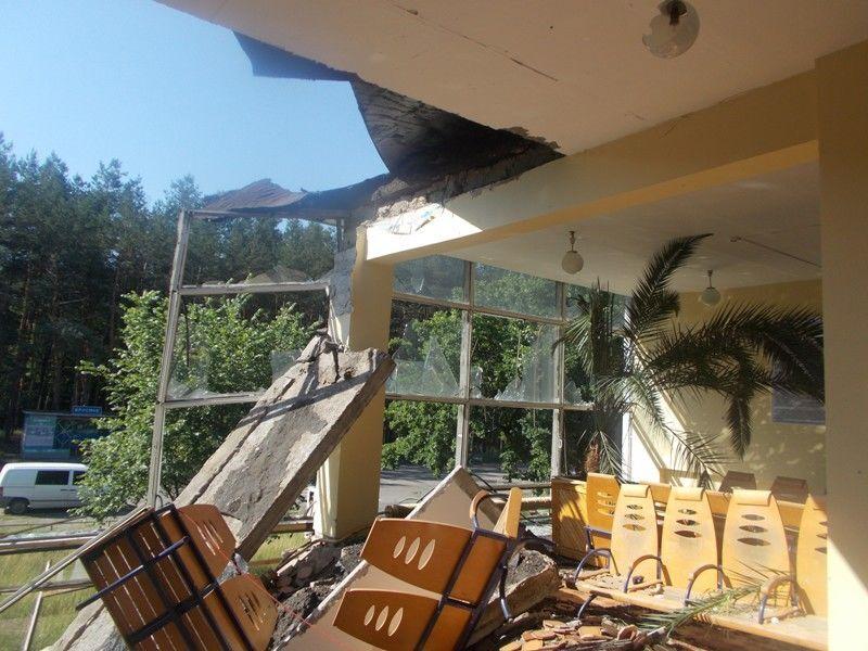 Террористы танками разрушили ж/д станции на Донбассе