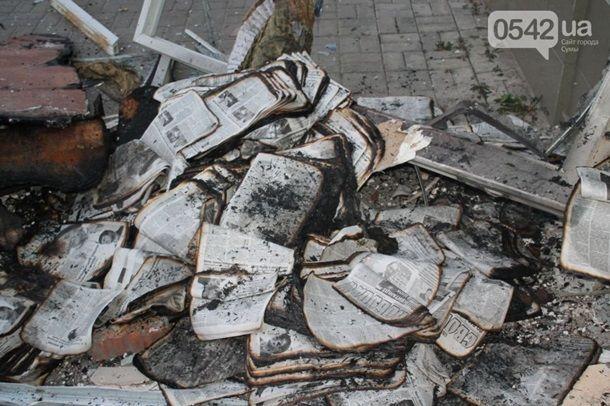 Взрыв в Сумах. В МВД назвали версии происшествия
