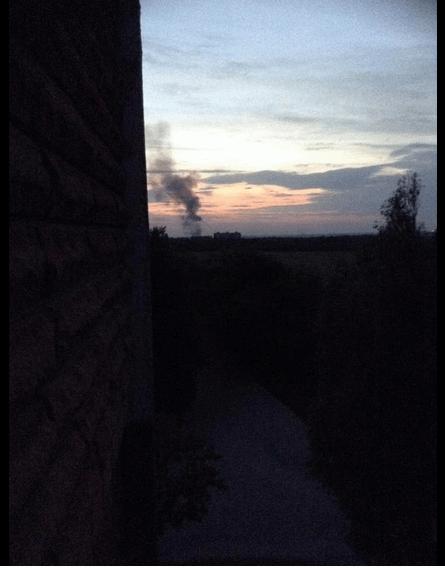 В Донецке рванул завод химизделий - очевидцы