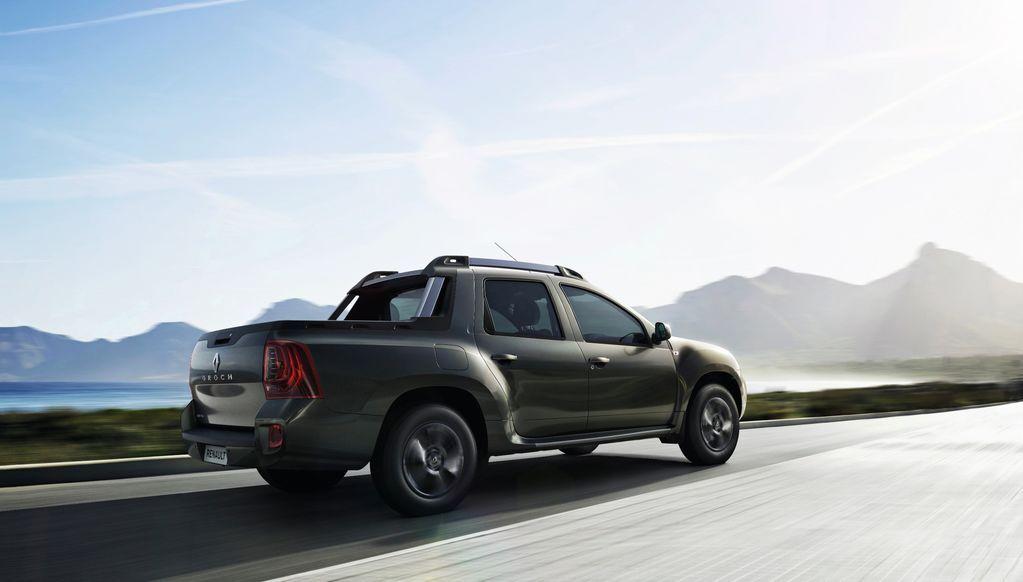 Renault показало бюджетный пикап Duster Oroch: фотофакт