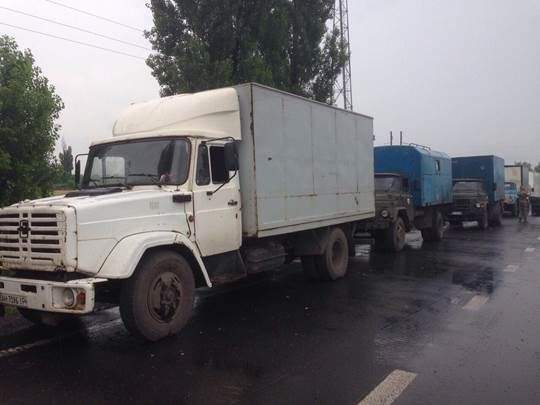 """СБУ перехопила вантажівки з товарами для ватажків """"ДНР"""": опубліковані фото"""