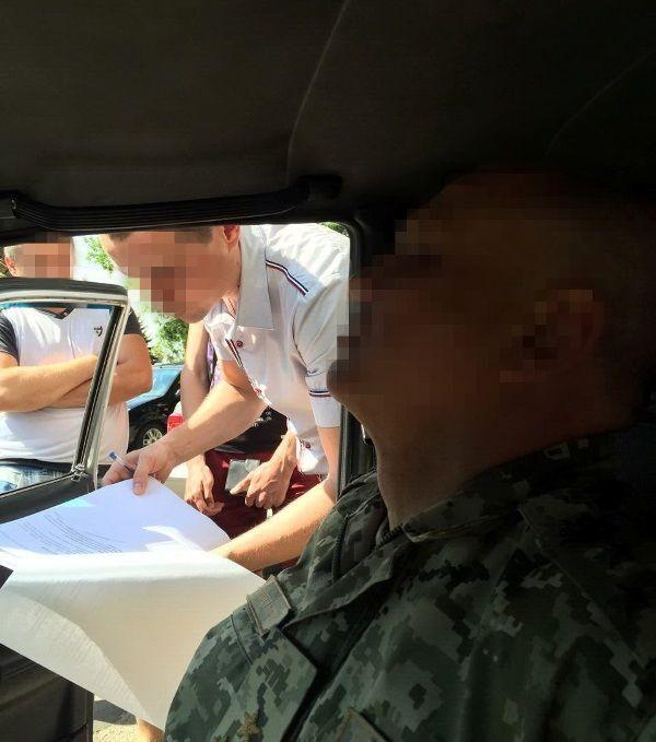 """Саакашвили """"достал шашку"""": военком Одесщины попался на взятке"""