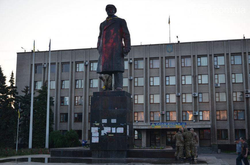 Вождь на продажу: Славянск остался без Ленина