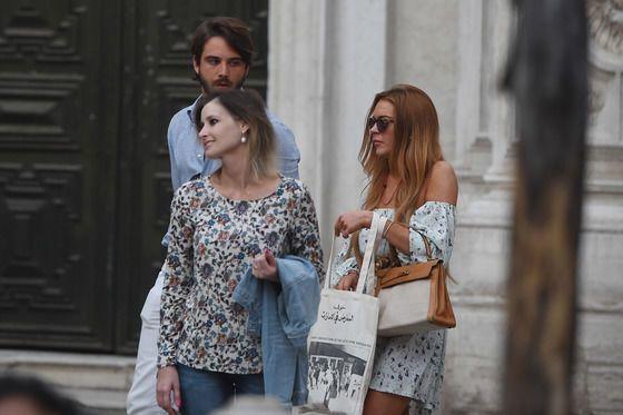 Линдси Лохан попала в любовные сети итальянского мафиози